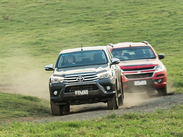 Head -to -head ,-Holden -Colorado -Z71-vs -Toyota -Hilux -SR5,-Review ,-Matt -Wood ,-ATN4