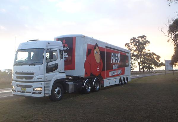 mitsubishi fuso heavy duty truck